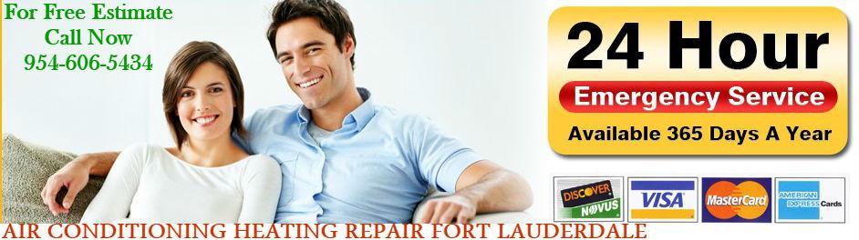 Emergency AC repair Fort Lauderdale